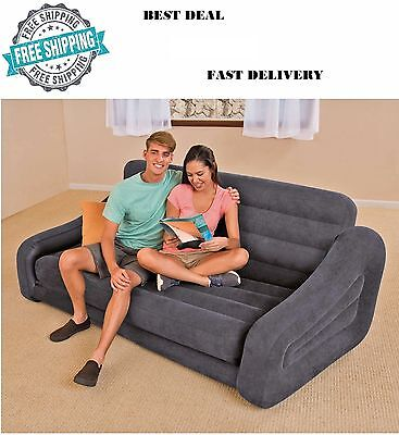 Tete- Bed Sofa Sectional Sleeper Futon Living Room Furniture Loveseat Guest NEW