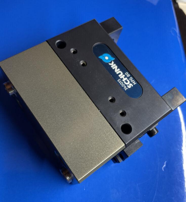 SCHUNK Pneumatic Parallel Gripper   MPG 80   P# 340015