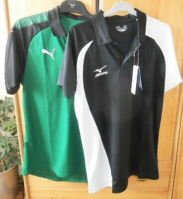 New Puma & Mizuno Golf Polo Shirts Size Large Athletic Fit