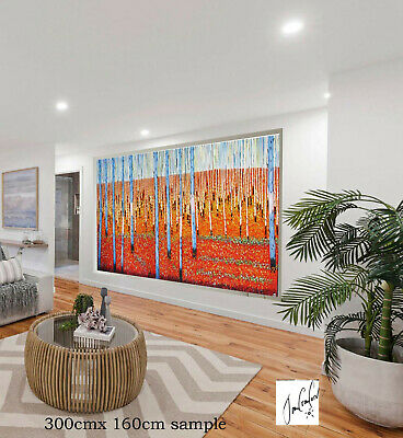 painting aboriginal art original Jane Crawford artwork tree landscape