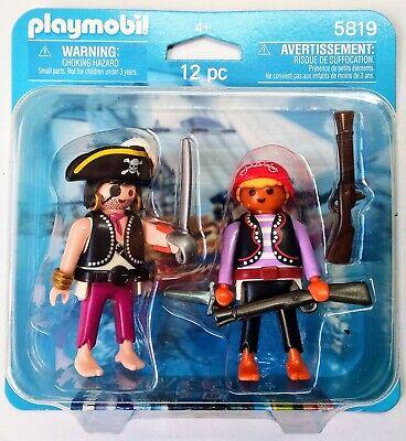 Blister 5819 Duo Pack Piratas Corsario Bucanero Barco Soldado History Knights