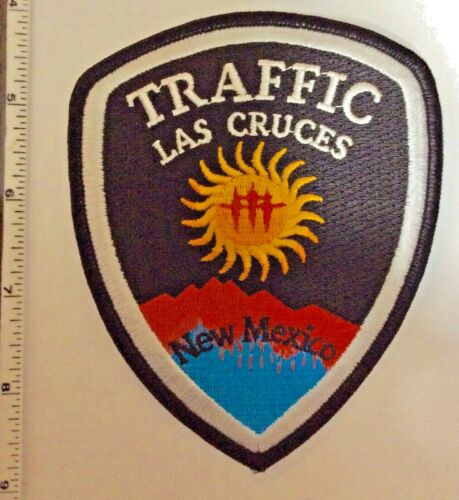 Las Cruces New Mexico TRAFFIC Police Shoulder Patch New