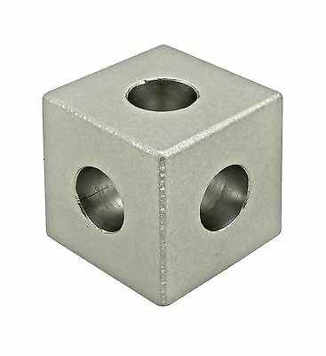 8020 Inc T-slot Aluminum 3 Way Squared Corner Connector 10 Series 4042 N