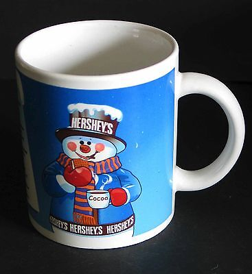 HERSHEY'S Chocolate Cocoa Mug Snowman with S'mores Campfire Recipe FREE SH