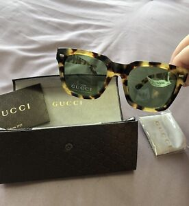 BRAND NEW w/tags GUCCI Mens Square Sunglasses GG 1109 FS