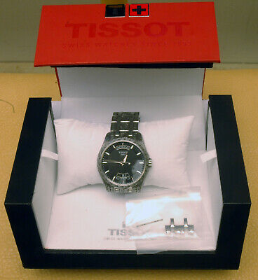 TISSOT Couturier (T035407A) Automatic custom hand engraved by Thierry Duguet