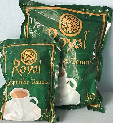 Royal Myanmar Instant Teamix 3in1 -The Best Myanmar/Burmese Milk Tea 30