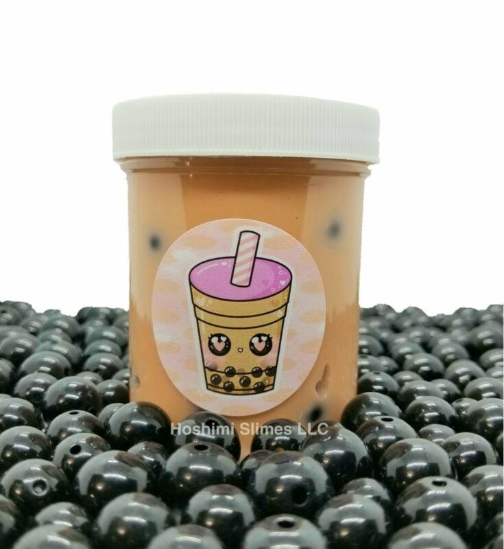 Milk Boba Tea Handmade Slime
