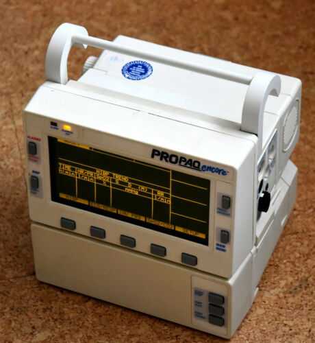 Pat-Monitor Propaq Encore 206 SPO2 CO2 EKG IBP NIBP Temp Kapnograf Welch Allyn