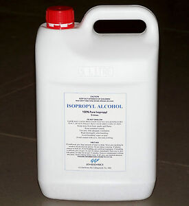 5.5-LITRE 100% ISOPROPYL ALCOHOL ISOPROPANOL IPA PCB CLEANER STERILE RUBBING