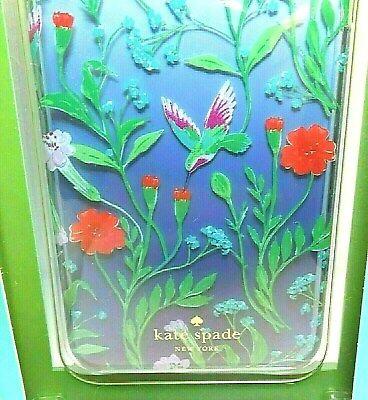 Kate Spade Hummingbird Floral iPhone 8 PLUS 7 PLUS Case Cover Flower Bird NEW