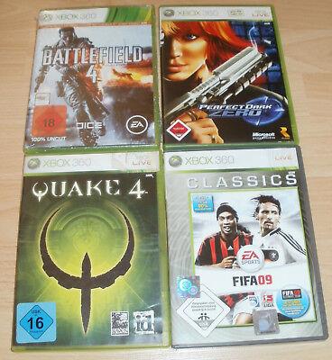 Xbox 360 - Spiele Sammlung USK 16 -18 - Battlefield, Quake 4, Perfect Dark Zero