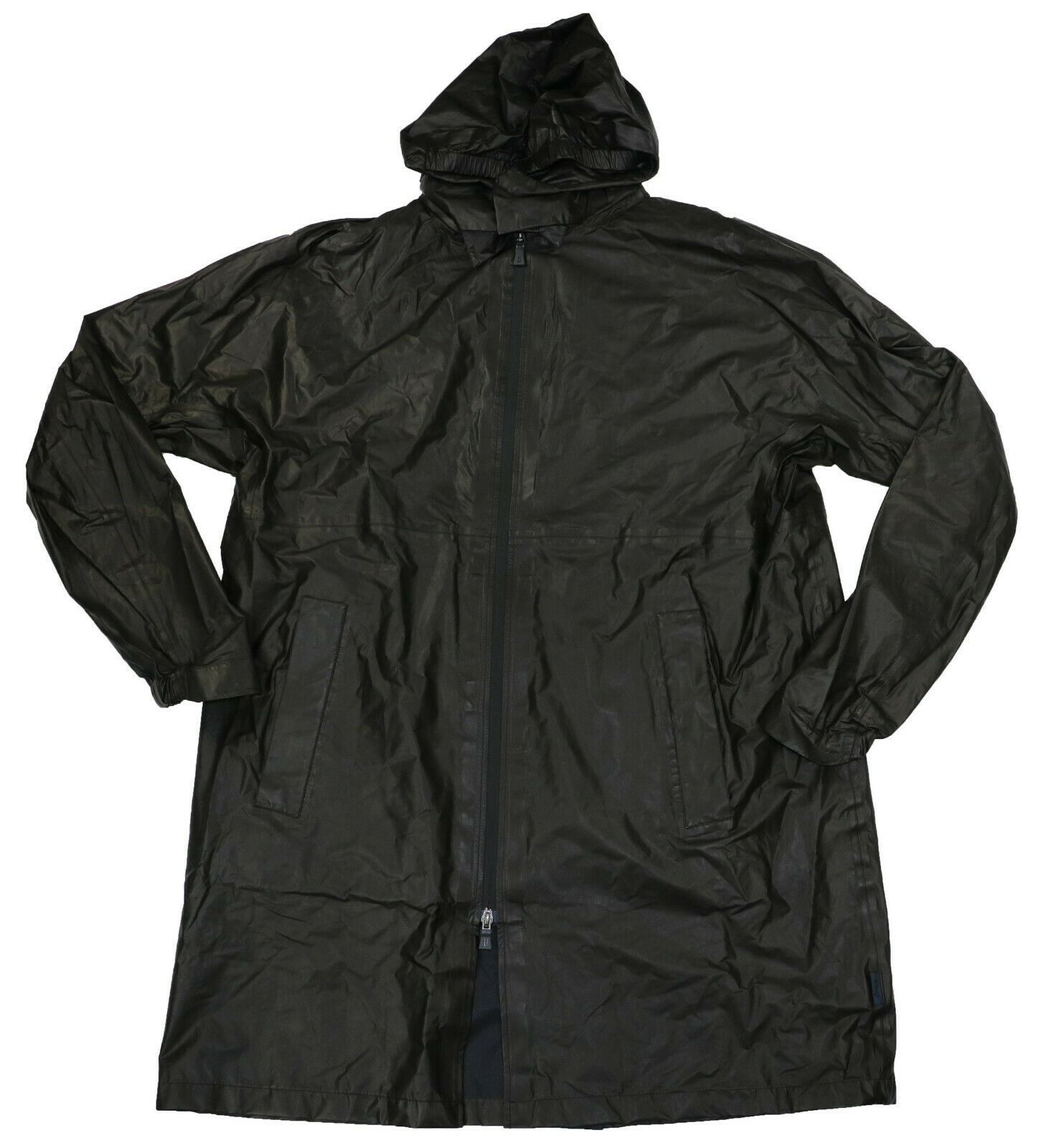 Herno Laminar Goretex Parka Style Raincoat With Hood Large/4
