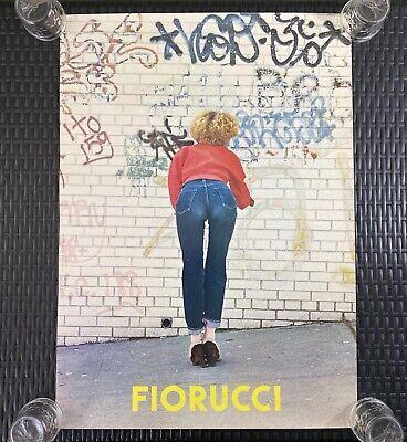 "Authentic Original Vintage 1978 ""FIORUCCI"" New Wave Italian Fashion Art Poster"