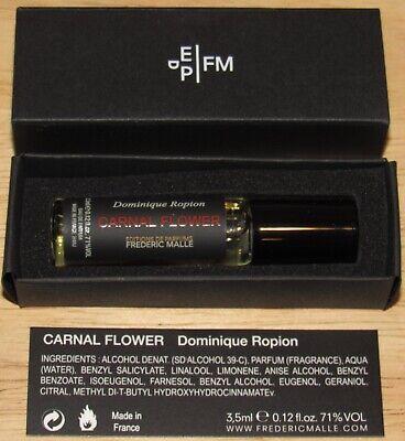 Carnal Flower Frederic Malle 3.5 mL Parfum Womens Unisex Fragrance Spray 0.12 Oz