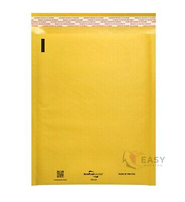 Kraft Bubble Mailer Padded Envelope Mailers Lite Shipping Bag Case 10 20 50 100