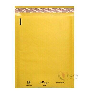 Kraft Bubble Mailer Padded Envelope Mailers Lite Shipping Bag Case 10 20 50 100