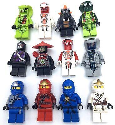 LEGO NINJAGO MINIFIGURES SERPENTINE SNAKE PEOPLE NINJAS JAY SNAPPA LASHA U PICK!