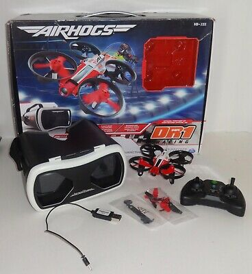 Air Hogs DR1 FPV Rallye Drone with VR Headset Open Box