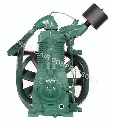Champion R40a 15 Hp 2 Stage Splash Lubricated Compressor Pump Whead Unloader
