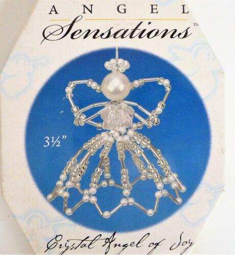 Beaded Crystal ANGELS Sensations Christmas Ornament KIT Makes 5 NEW