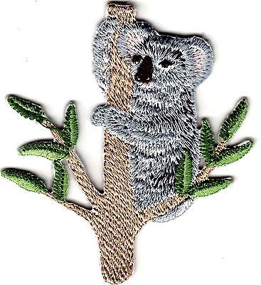 Koala Animals (KOALA BEAR Iron On Patch Animals Australia)