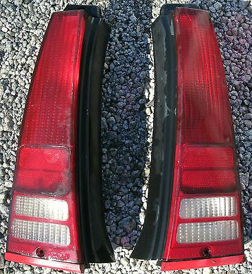 1986 87 88 89 90 91 Mercury Sable Ford Taurus Rear Tail Lights Pair LH RH OEM