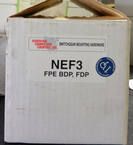 Federal Pacific NEF3 Twin Mounting Hardware Kit KBPD BDP FDP NEF breaker kit