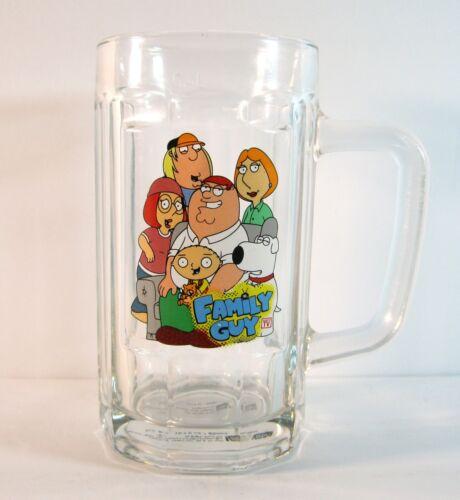 FAMILY GUY TV SHOW GLASS BEER MUG TANKARD SETH MACFARLANE ANIMATION DOMINATION