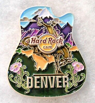 HARD ROCK CAFE DENVER 3D CORE ICON SERIES PIN # 95594