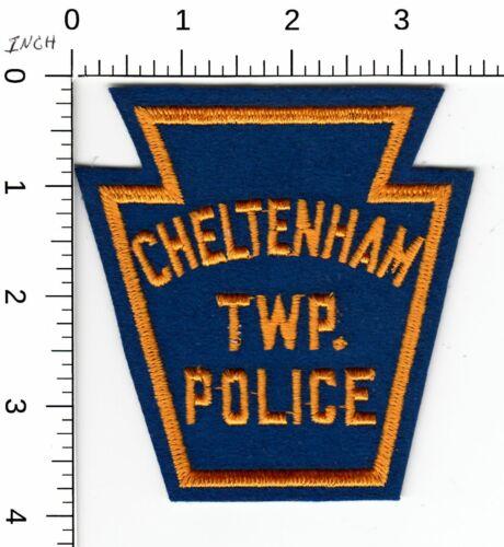 CHELTENHAM TOWNSHIP (FELT) POLICE OLDER KEYSTONE PATCH PENNSYLVANIA PA
