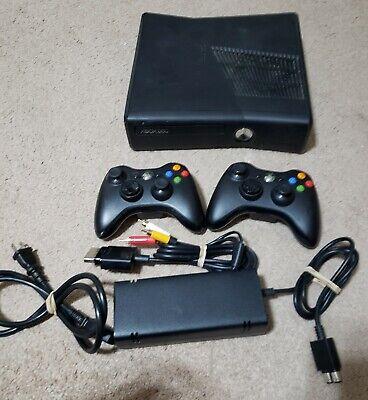 Microsoft Xbox 360 Slim 250GB Console, W/ Controllers, Power Brick, HDMI bundle for sale  Chandler