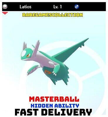 Pokemon Sword Shield ✨ SHINY ✨ 1️⃣ LATIOS 6IV FAST DELIVERY