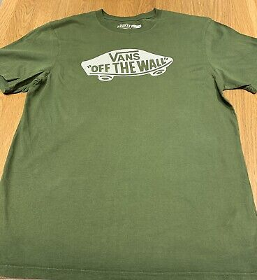 Vans T Shirt, Large, Used