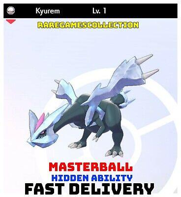 Pokemon Sword Shield ✨ SHINY ✨ 1️⃣ KYUREM 6IV FAST DELIVERY