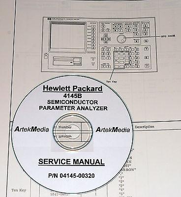 Hp 4145b Semiconductor Param Analyzer Service Manual