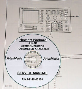 HP-4145B-Semiconductor-Param-Analyzer-Service-Manual