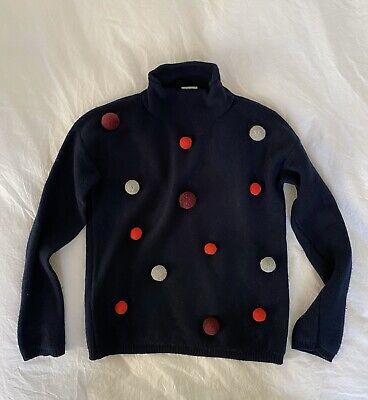 Il Gufo Pom Pom Wool Sweater Sz 10