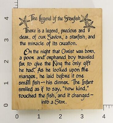 Legend Of The Starfish (Eureka Stamps The Legend of the Starfish 4