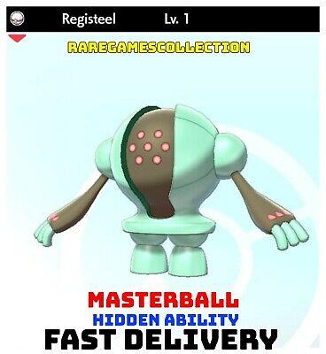 Pokemon Sword Shield ✨ SHINY ✨ 1️⃣ REGISTEEL 6IV FAST DELIVERY