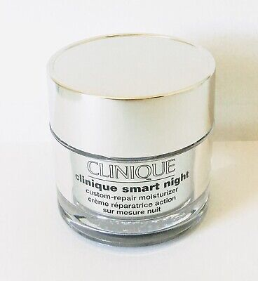 New Clinique Smart Night Custom-Repair Moisturizer Cream 1.7 oz / 50 ml Clinique Night Moisturizer