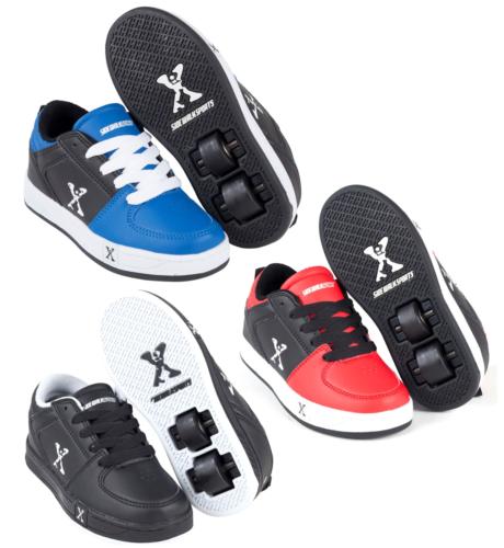 Sidewalk Jungen Kinder Rollschuhe Turnschuhe Laufschuhe mit Rollen Sneakers Spo