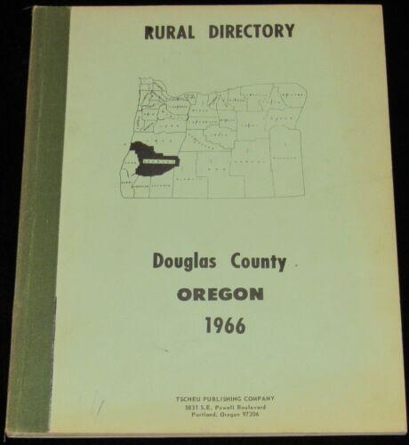 1966 OREGON, DOUGLAS COUNTY RURAL DIRECTORY