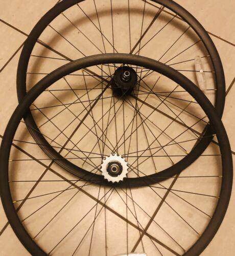 NEW Fixie or Freewheel Track Bike Wheels 700 32 Hole Precisi