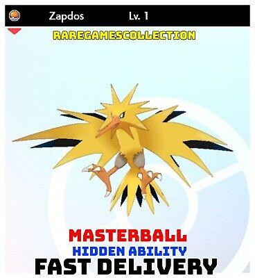 Pokemon Sword Shield ✨ SHINY ✨ 1️⃣ ZAPDOS 6IV FAST DELIVERY
