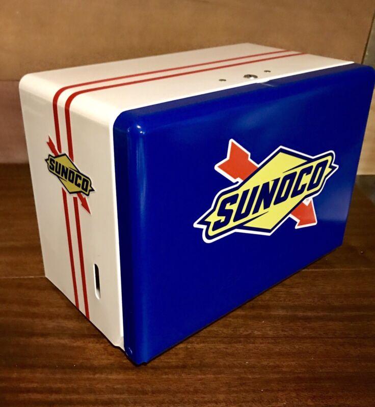 Paper Towel Dispenser with key / Gas Station Garage hotrod Sunoco