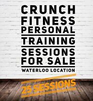 25 Personal Training Sessions