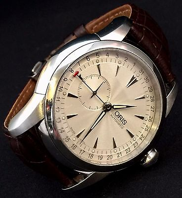 Oris Artelier Small Second Pointer Date 2003 Men's - 01 644 7545 4051-07 5 22 47