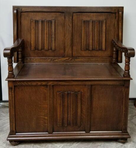 Jacobean table-banch (1840-1860)