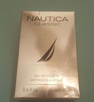 Nautica Classic 3.4oz Men's Eau de Toilette Spray **NIB and SEALED**
